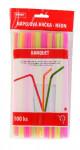 brčka s kloubem neonová 5x210mm (100ks) - mix barev