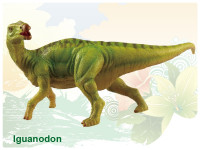 Dinosaurus - Iguanodon 25 cm