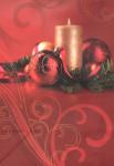 Dárková taška DAB, vánoční zátiší 32cm, DITIPO - VÝPREDAJ