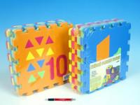 Penové puzzle Počítanie / Tvary 30x30cm