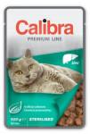 Calibra Cat vrecko Premium Sterilised Liver 100g