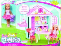 Barbie Chelsea a domeček
