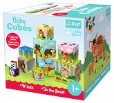 Kostky kubus V lese 15x15cm
