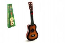 Gitara drevo / kov 53cm