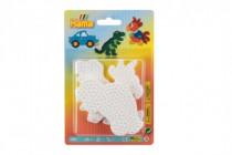 Podložka na zažehľovací korálky auto, papagáj, dinosaurus plast
