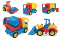 Auto stavební Tech truck plast 25cm Wader - mix variant či barev