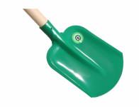 Lopatorýč násada s plastovou rúčkou zelený