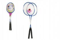 Badminton kov 2 pálky a 1 loptičku - mix farieb