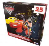 Penové puzzle 25 dielov Cars 3