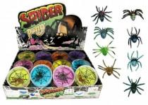 Sliz - hmota pavúk 7cm - mix variantov či farieb
