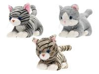 Mačka plyšová 35 cm ležiaci - mix variantov či farieb