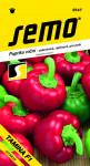 Semo Paprika zeleninová sladká F1 - Tamina F1 poľa, rajčiaková paprika 15s