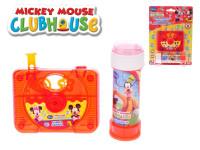 Bublifuk kamera Mickey Mouse a Minnie 10x8 cm 60 ml
