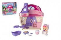 CRY BABIES Magické slzy plast bábika s domčekom a doplnkami