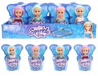 Zimní princezna malá v kournoutku Sparkle Girlz
