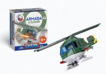 Stavebnica Cheva 46 Vrtuľník vojenský plast