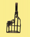 Náhubek kovový Eldeltetiér - fena, gumoplast 105 x 115 x 115 mm