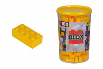 Blox 100 Kostičky žlté v boxe