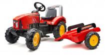 Traktor šlapací Supercharger červený