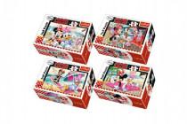 Minipuzzle Minnie & Daisy 54dílků - mix variantov či farieb