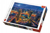Puzzle Svetla v Dubaji 2000 dielikov 96x68cm
