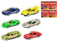 Auto závodné 7 cm kov 1:87 voľný chod - mix variantov či farieb