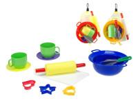 Kuchyňský set 11 ks - mix barev