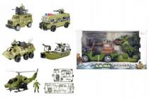 Vojenská sada plast v krabici 38x22cm - mix variant či barev