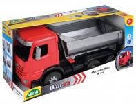 Auto sklápač Worxx plast 46cm 1:15 v krabici Mercedes Arocs