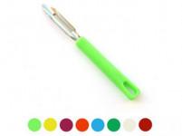 škrabka P nerez 17cm, plastová rukoväť - mix farieb