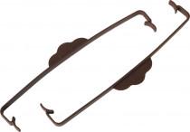 Plastia svorka na truhlík Siesta čokoládová - 2 ks