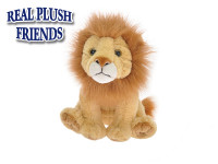 Lev plyšový 15 cm sediaci