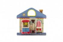 Nábytok pre bábiky plast 12cm - mix variantov či farieb