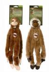 Hračka pes Opice pískacie 41cm Skinneeez