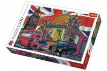 Puzzle Barvy Londýna 1000 dílků 68x48cm