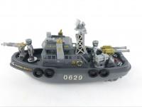 Loď hlídková na baterie do vody army