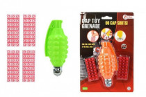 Ruční granát plast/kov 13cm na kapsle 96ran