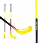 Spokey Avid II hokejka florbal žltá rovná čepeľ - VÝPREDAJ