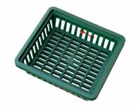 Košík na cibuľoviny tmavo zelený 29x26cm 3ks