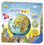 Dětská mapa světa Puzzleball 108d