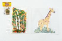 Zažehlovací korálky žirafa plast