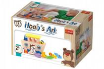 Noemova archa loďka so zvieratkami 18ks drevená Wooden Toys