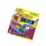 EasyCreative plastelina 6 barev/sada, 96g