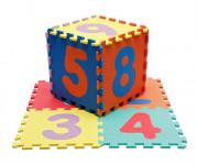 Penové puzzle čísla 9 ks