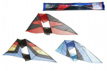 Drak lietajúci nylon 183x81cm - mix farieb