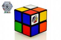 Rubikova kostka hlavolam 2x2 plast 4,5x4,5cm