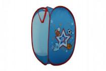 Koš na hračky modrý pro kluky polyester