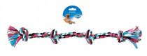 Hračka bavl. 4 Uzel barevný DUVO+ 55 cm