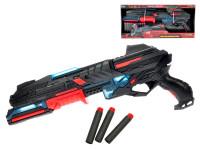 Pistole na pěnové náboje 50 cm na baterie se světlem + náboje 10 ks
