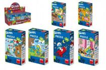 Puzzle Šmoulové 60 dílků 23,5x21,5cm - mix variant či barev